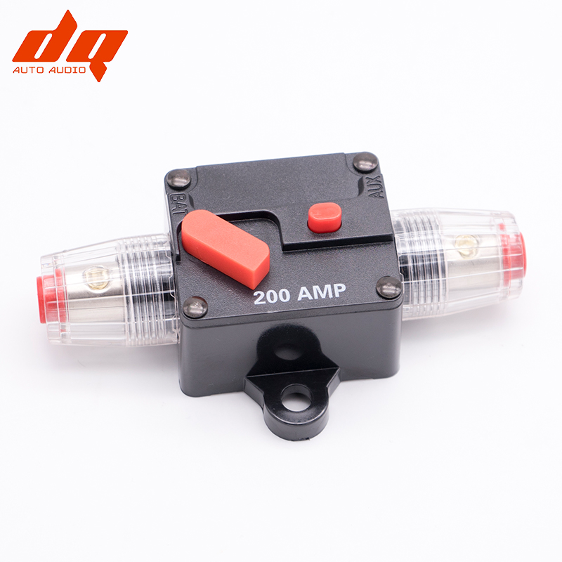 Car Modified Switch Audio Circuit Breaker Manual Reset Fuse inverter Holder Fuse