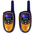 2 unids mini walkie talkie para niños juguete romero rt31 pmr446 8ch 0.5 w uhf 446.00625-446.09375 mhz vox pantalla lcd radio retevis a9112m