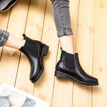 Centenary New Chelsea Boots in Autumn and Winter 2018 Med (3cm-5cm)  winter shoes women Ankle boots