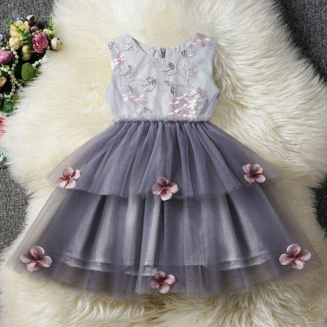 Kids Baby Dress Floral...