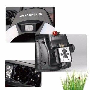 Image 5 - Светодиодный кольцевой светильник Meike MK 14EXT i TTL для Nikon D5600 D5200 D5100 D5000 D3200 D3100 D90 D750 D600