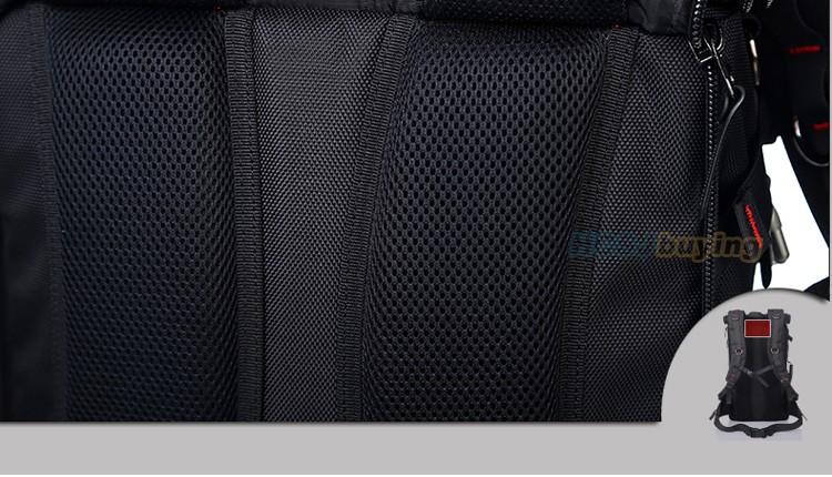 KAKA Men Backpack Travel Bag Large Capacity Versatile Utility Mountaineering Multifunctional Waterproof Backpack Luggage Bag 28