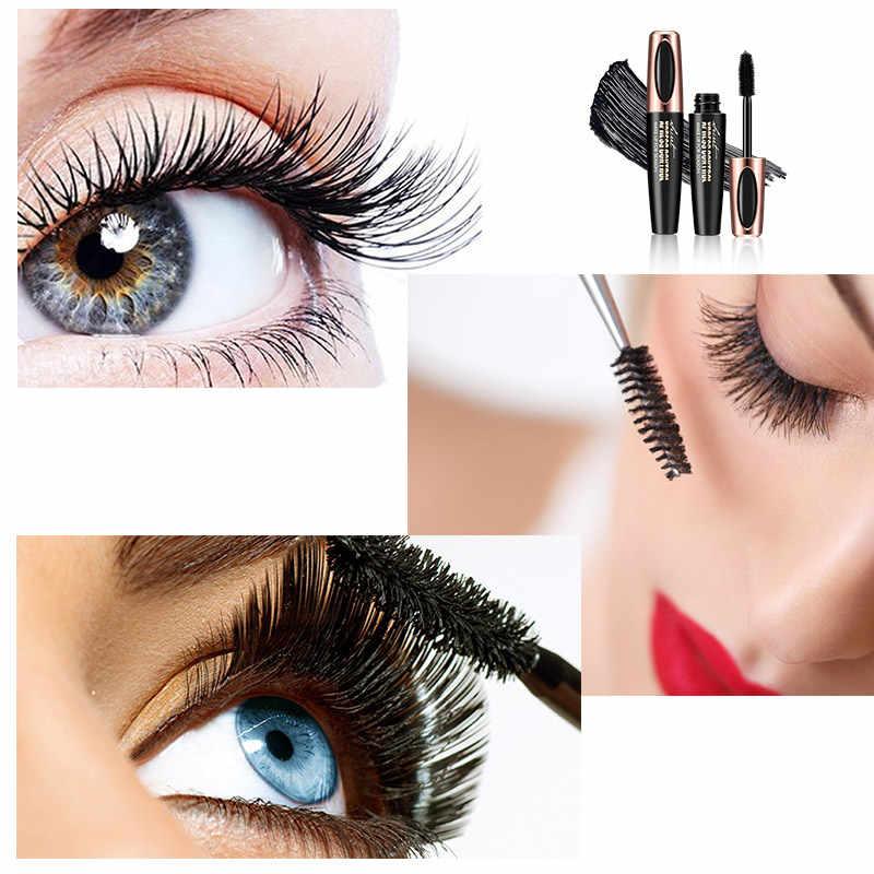 Rimel Bulu Mata Maskara 4D Serat Sutra Tahan Lama Putih Mascara Mata Bulu Mata Makeup Kosmetik Rimel Tahan Air Mascara De Cilios