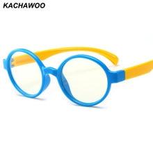 008fa495f Kachawoo óculos menino menina tr90 óptico anti-blue light rodada armações  de óculos crianças 2019 bebê vermelho preto moda
