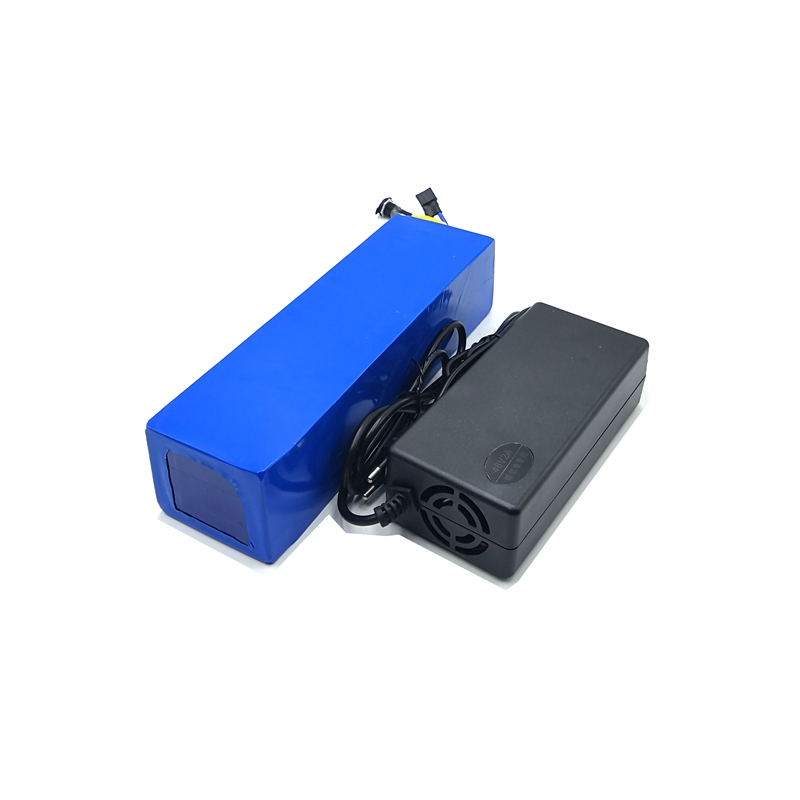 54.6V 2A Li-ion lithium Battery charger with DC head and 48v 6ah e bike e scooter battery for Samsung cell