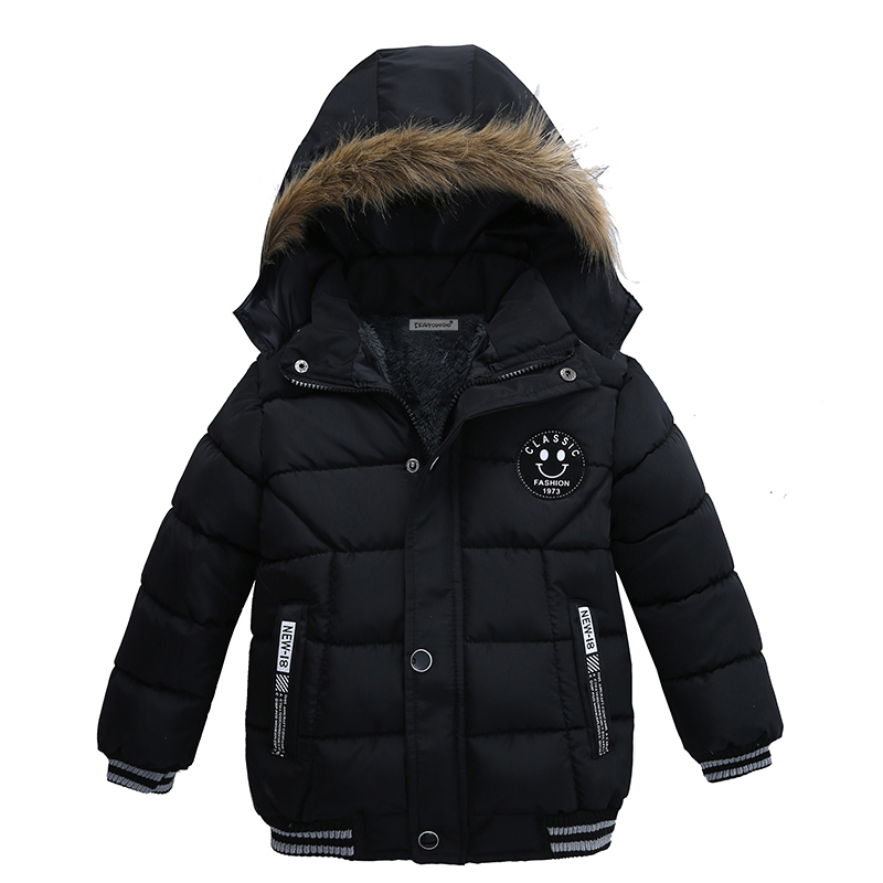 Baby Boys Jacket 2018 Winter Clothes Jacket For Boys Children Jacket Kids Hooded Warm Outerwear Coat For Boy Clothes 2 3 4 5year стоимость