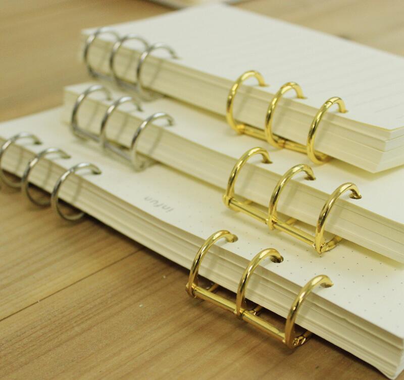 Gold Binding Rings