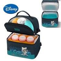 Disney Baby Insulation Bag Milk Food Fresh Storage Thermal Diaper Bag Cartoon Mummy Feeding Bottle Cooling Backpack