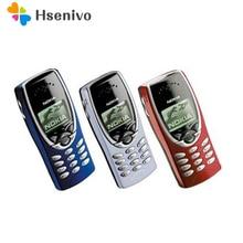 8210 Оригинал Nokia 8210 Открыл Мобильный Телефон 2 Г Двухдиапазонный GSM 900/1800 GPRS Классический Дешевый Сотовый телефон Бесплатная Доставка