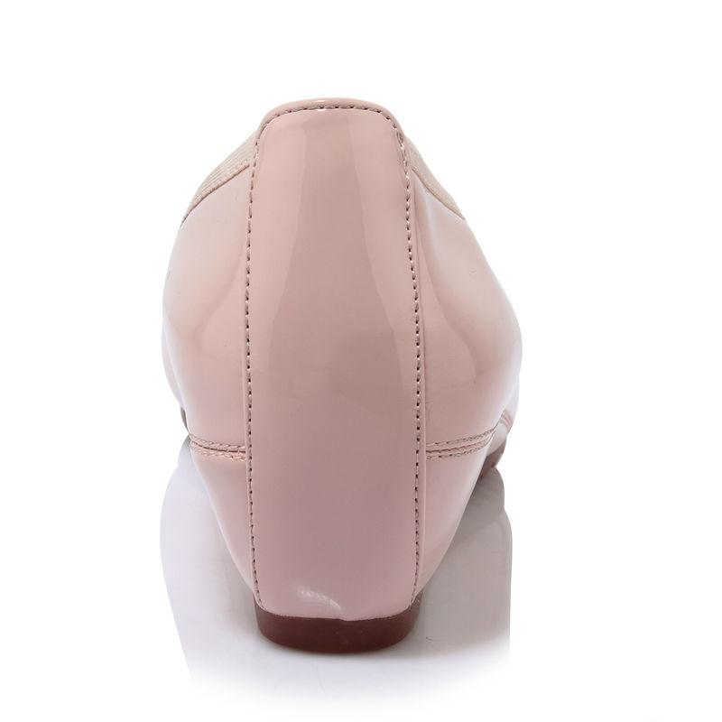 91ab29e130ce3 Chaussures Taille rose Peu Casual Grande D été En 40 34 Ribetrini Doux  Coins Doublure Apricot Profonde 2019 Femmes Cuir Femme Appartements pZnzH