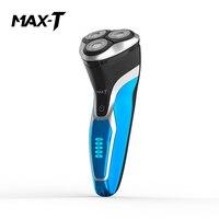 Neue MAX T RMS7109 Elektrische Rasierer Waschbar Wiederaufladbare USB Ladung Herren Rasierer Elektrische Gesicht Pflege Elektrische Rasur Bart Maschine-in Elektrische Rasierapparate aus Haushaltsgeräte bei