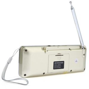 Image 4 - บลูทูธสเตอริโอแบบพกพาวิทยุ FM ลำโพงเครื่องเล่นเพลง TFCard USB Disk หน้าจอ LED ควบคุมระดับเสียงลำโพงแบบชาร์จไฟได้ลำโพง