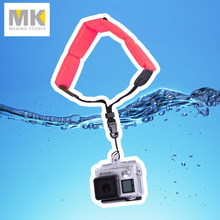 Gopro hand wrist strap Camera submersible Floating bobber for Hero 4 3+ 3 2 1 red color