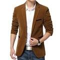 Блейзер Мужчины Британский Стиль Случайный пиджак Slim Fit костюм мужской Блейзеры Мужчины Терно Masculino Пальто Плюс Размер 5Xl Марка одежды