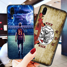 Yinuoda Phone Case For De Ligt Team Huawei P9 lite P10 Shell DIY F. de Jong P8 2017 mate 10 P30 NOVA