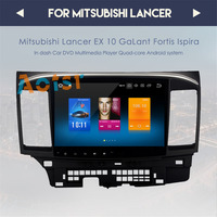 top quality Android 8.0 tape recorder Car DVD GPS for MITSUBISHI LANCER 2007 2017 headunit video player Radio video Stereo rds