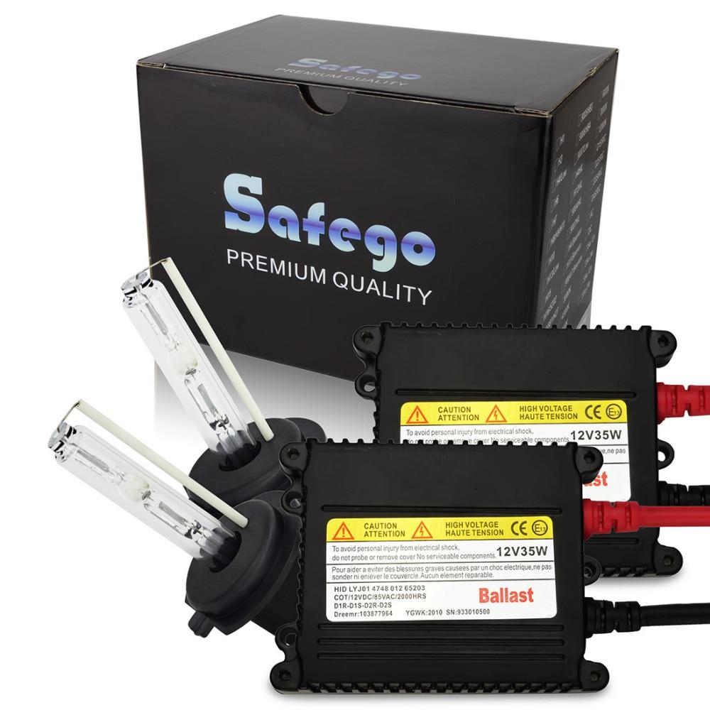 1 set Xenon HID Kit Xenon Conversion Replacement Kit H1 H3 H4-1 H7 H8 H9 H10 H11 Single Beam 35W DC 12V HID Headlight Bulbs