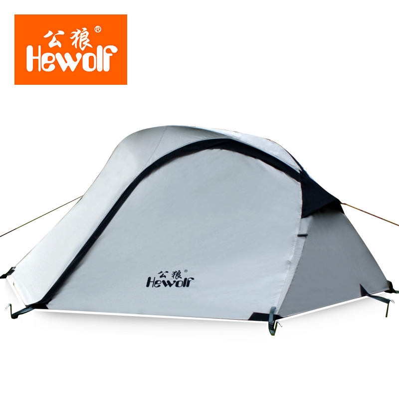 2 People Beach Folding Tent Bed Equipment High Quality Professional Outdoor Double Layer Four Seasons Rain Camping Rainproof вам свет подвесная люстра reccagni angelo l 3621 3
