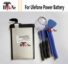 Power Battery For Ulefone Power Mobile Cell Phone High Quality 6050mAh Back-up Batteries for Ulefone Power Smartphone In Stock