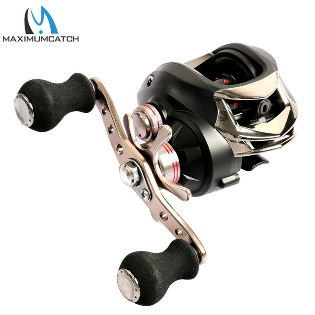 Best Offers Maximumcatch Maxcatch Baitcasting Reel 10+1 BB 6.3:1/7.0:1 8KG Max Drag Ultra Light Centrifugal Brake System Fishing Reel