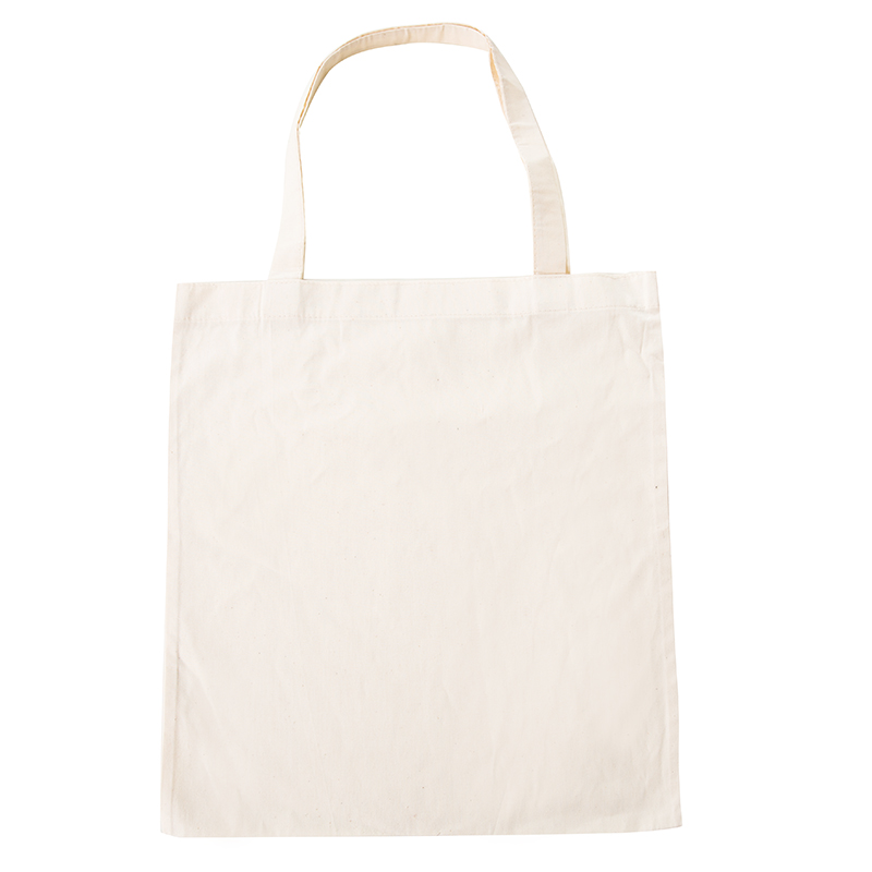 New ECO Cotton Shopping bag Folding Package Women Men Reusable Canvas Fold Pouch white in Shopping Bags from Luggage Bags