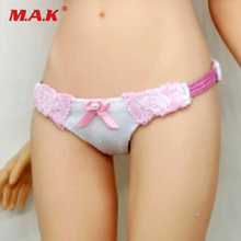 Custom 1/6 1/6 Scale Female Clothing Accessories Briefs Underwear Set Underpants Female Clothes F 12