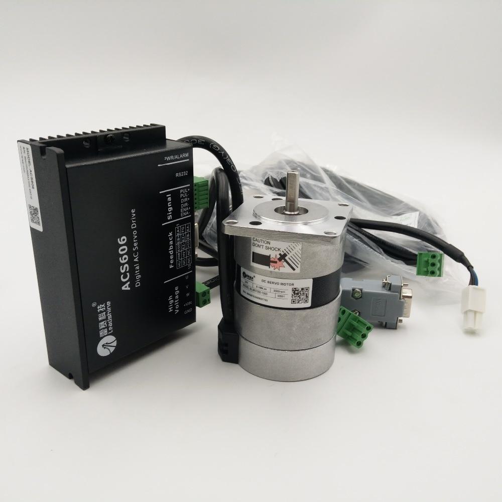 Leadshine 50w 24v Dc Brushless Motor Kit Blm57050 1000