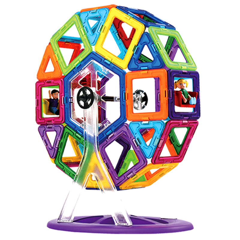 72pcs Magnetic Bricks Magformers Toys Magnet Kids Educational Toys Building Blocks Plaything For Children Toys