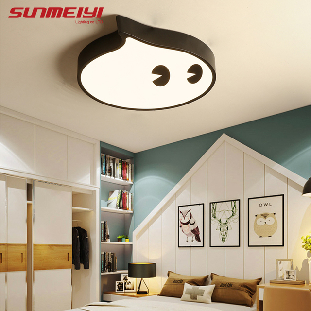 Dimmable Led Ceiling Lights For Kids Room Living Kitchen House Lighting Fixtures Plafon Modern