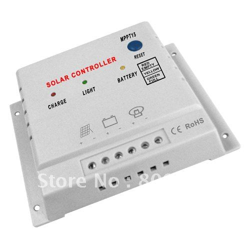 Mppt15 15a 48v solar panel charge controller battery charger