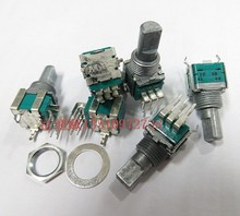 [VICKO] ALPS 09 double vertical midpoint volume potentiometer with multi for Pioneer 400 B10K handle length 15MMF