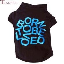Футболка для питомцев с надписью «BORN TO BE Love», одежда для маленьких собак 80309