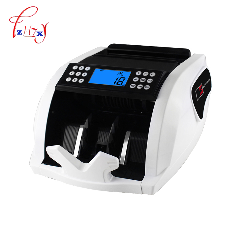 Automatic Money Counter Money Bill Counter Counting Machine Counterfeit Detector Suitable for Multi-Currency цена
