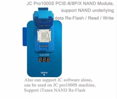 Latest JC JC PRO 1000S PCIE 8 8P X NAND Module support nand underlying date re- flash read wrirteLatest JC JC PRO 1000S PCIE 8 8P X NAND Module support nand underlying date re- flash read wrirte