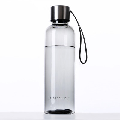 Hifuar 500ML Transparent PP Water Bottle Travel Tour Fall-resistant Portable Kitchen Acc ...