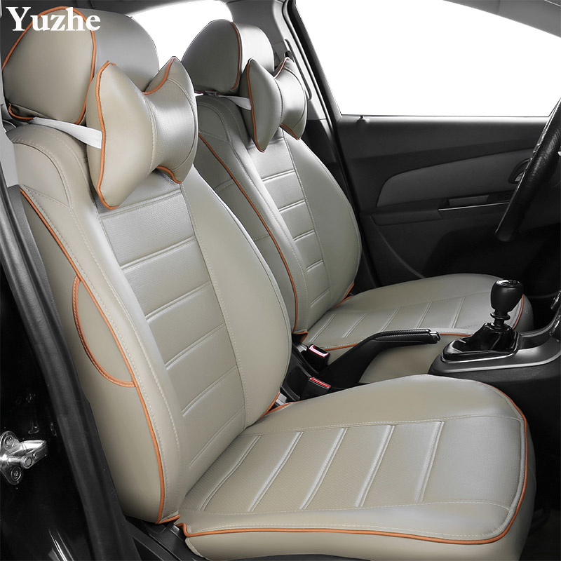 Yuzhe (2 sièges Avant) Auto automobiles couverture de siège de voiture Pour Honda Accord FIT VILLE CR-V Odyssey Element Pilote 2016 ~ 2011 accessoires