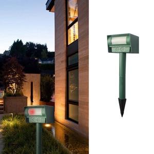 Image 2 - Repelente Solar infrarrojo patio jardín césped ratón unidad electrónica 2019 nueva llegada jardín césped ratón herramientas de transmisión electrónica