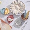 Kunststoff Knödel Maker Wrapper Teig Cutter Gebäck Ravioli Mould Pie Crimper Küche Gadgets-in Kuchenutensilien aus Heim und Garten bei
