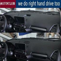 Dla Ford EcoSport 2017 2018 skórzane Dashmat pokrywa deski rozdzielczej podkładka samochodowa Dash Mat osłona przeciwsłoneczna dywan pokrywa na
