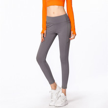 Women Yoga Pant Sweatpants High Waist Stretch Legging Tights Yoga Trousers Running Jogger Fitness Gym Sports Workout Pants 2016 spandex women running tights thermal colorful running tights legging for jogger sports workout size s 2xl