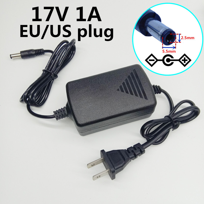 Pro 3.5*1.35mm Round Pin Wall Charger For 18650 Li-Ion Flashlight DC 5V US Plug