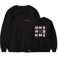 Monster X Sweatshirts Men/Women Casual Crewneck Kpop Hoodie Harajuku Pullover Sweatshirt Fashion Female Cool Plus Size Tops