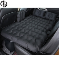 Car travel bed inflatable mattress outdoor auto camping accesorios back seat air sofa sleeping camp sleep in SUV For