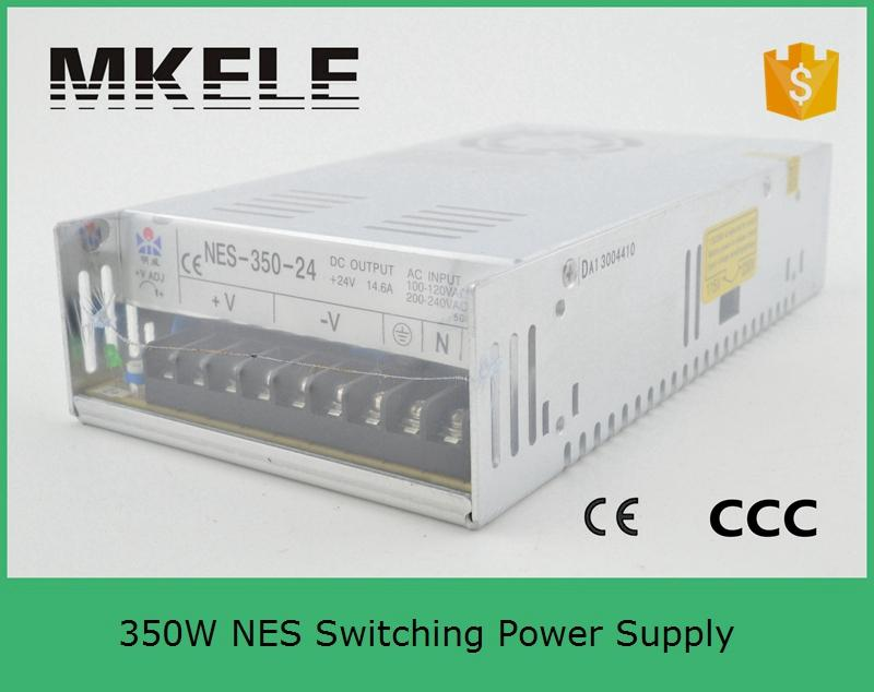 ФОТО NES-350-15 23.2a CE certification 15v 350w switch power supply with 1 years warranty from china factory