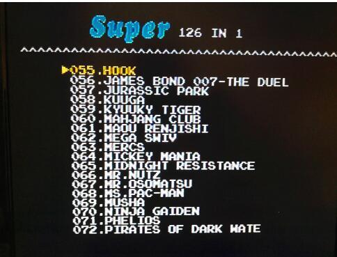 126 i 1 för Sega Megadrive Genesis Spelkort med Super Marioed Batman - Spel och tillbehör - Foto 4