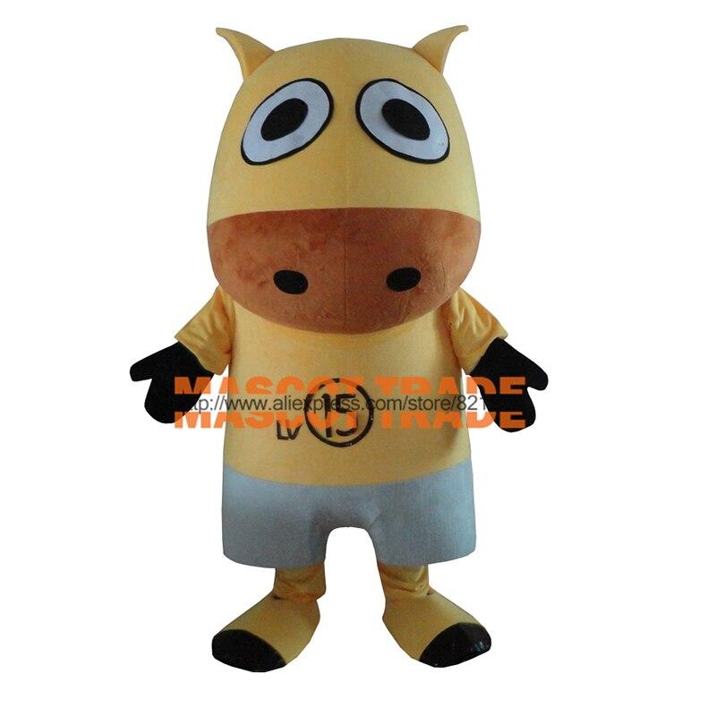 Nouveauté petit Costume de mascotte de vache livraison gratuite