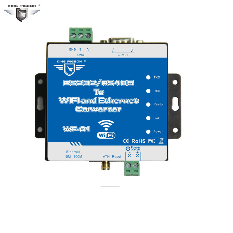cb5d14676592 RS232/485 to WIFI /Ethernet Converter Wireless Networking Router Date  Transparent Transimission Webpage Configuration WF-01. 2848.42 руб.