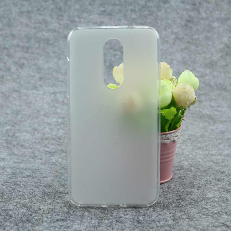 Telefoon Geval Voor Wiko Wim Lite 5-inch Hoge Kwaliteit TPU Zachte Siliconen Clear Pudding Cover