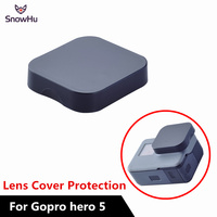 SnowHu For Gopro 5 Accessories for Go pro 5 Lens Cover Protection Lens Cap for Go Pro 5 Black Action Camera Accessories LD13