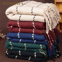 Za клетчатый женский шарф, черные модные теплые женские шарфы, зимний кашемировый шарф, шаль, одеяло, шарф, женский шарф